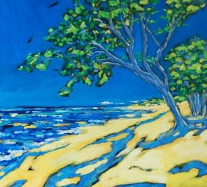 Christi Dreese 21x22 Along the Shoreline