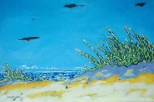Artist Christi Dreese Along the Shoreline Series
