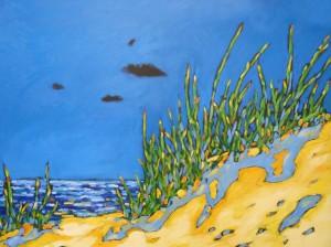 christidreese.along the shoreline 36 x 48 (1)