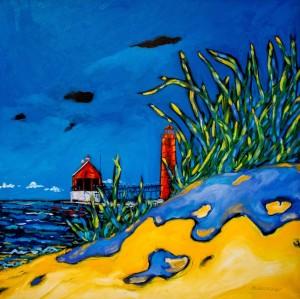 christidreese. Grand haven lighthouse