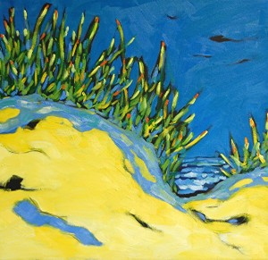 Artist Christi Dreese  Along the Shoreline Series