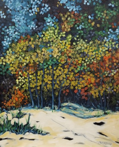 dreese beach trees 24x30