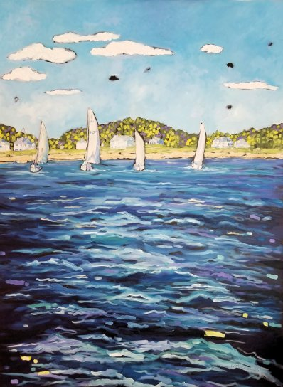 Dreese Sailboats 36x48