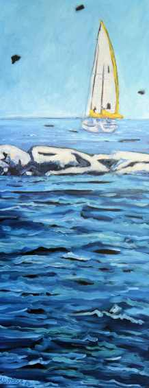 Dreese Sailing 16x30